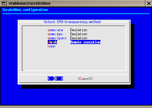 Installing Scratchbox